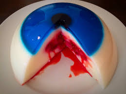 bleeding halloween monster eye jello youtube