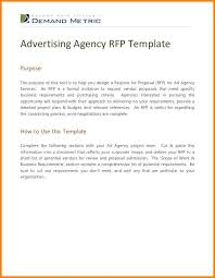 advertising proposal letter proposal letter business templated