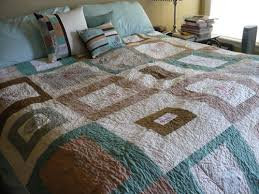 southern quilter nature quilt and pillows