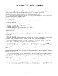 cover letter for college students business plan cover letter template free
