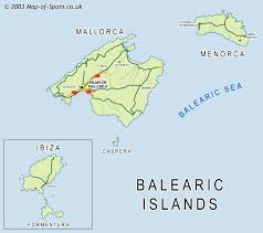 Maps Of Spain Index Of Maps Of Spain Ballearic Islands