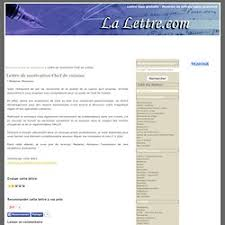 lettre de motivation chef de cuisine en restauration collective lettre de motivation emploi pearltrees