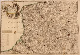 Calais France Map by 17th Century Antique Map Of North East France Artois Including