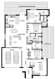 Serenity Floor Plan Serenity Within Your Doorstep Cooinda Homes