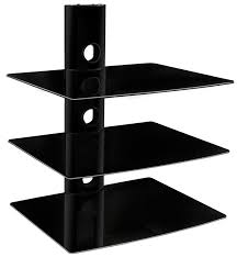 wall shelves design sophisticated shelving for cable boxes on the