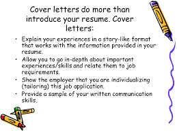 a basic guide to writing great cover letters ppt download
