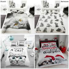 Kitten Bedding Set Cat Duvet Ebay