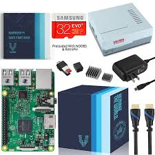 raspberry pi 3 complete starter kit with retro gaming case vilros