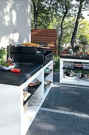 amenagement cuisine d ete amenager une cuisine exterieure mais cest aussi un excellent moyen