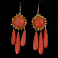 girandole earrings coral girandole earrings early girandole earrings