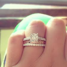 Stacked Wedding Rings by 46 Best Wedding Rings Images On Pinterest Jewelry Rings And