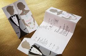 Simple Invitation Card Contemporary Elegant Wedding Invitations Lake Side Corrals