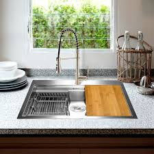 metal kitchen sink and cabinet combo 25 l x 22 w drop in kitchen sink with faucet