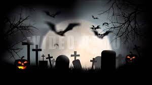 halloween graveyard full moon youtube
