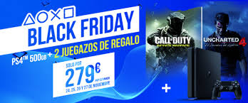 black friday ps4 cyber monday y black friday mejores ofertas y descuentos