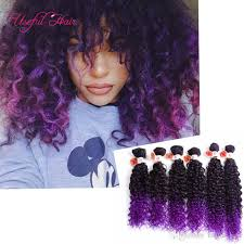 sewing marley hair 2017 synthetic braiding hair blonde extensions kinky curly loose