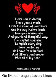 Thoughtful Memes - i love you so deeply i love you so much i love the sound of your