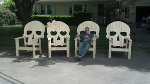 skull chairs love this for the home pinterest backyard