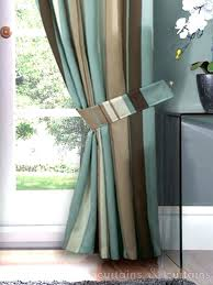 Brown Curtains Target Blue And Brown Bathroom Window Curtains Tiffany Blue And Brown