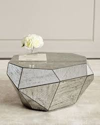 Mirrored Tables Best 25 Mirrored Coffee Tables Ideas On Pinterest Elegant