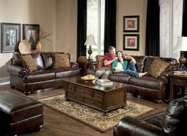 fabulous black livingroom furniture black leather living room