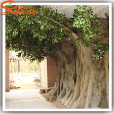 size cheap artificial big trees landscape plastic banyan