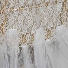 tutu chair covers bridal party lace and tulle tutu chair covers ivory efavormart