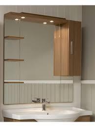 Oslo Bathroom Furniture Oslo Walnut 100cm Mirror Glenhill Merchants
