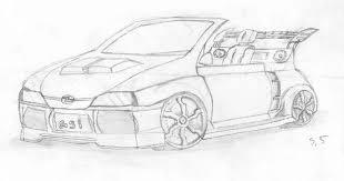 coloriage voiture tuning les beaux dessins de transport à