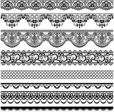 vintage ornamental borders 24 ai format free vector