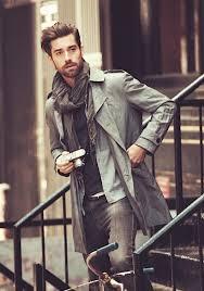 mens fashion jacket scarf shirt menswear pinterest