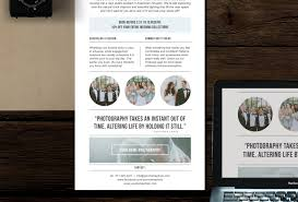 photography newsletter template for email u0026 pinterest