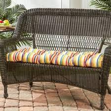 bench rectangle outdoor cushions u0026 pillows shop the best deals