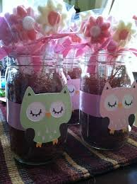 jar centerpieces for baby shower best 25 owl baby shower decorations ideas on tulle