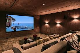 Home Theatre Design Los Angeles Modern Masterpiece In Bel Air