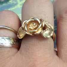 avon wedding rings shop avon gold rings on wanelo