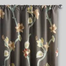 Standard Window Curtain Lengths Curtains Drapes U0026 Window Treatments World Market