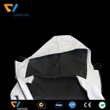 reflective cycling jacket elastic reflective lycra fabric for jacket sportswear t shirt