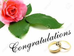 wedding engagement congratulations pink with green leaves congratulations wording and
