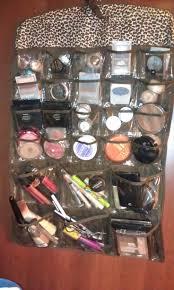 hair and makeup organizer hanging makeup organizer home design and decor