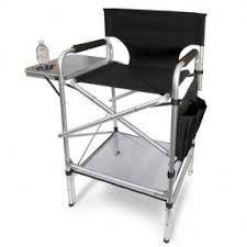 Folding Directors Chair With Side Table Aluminum Directors Chairs Foter