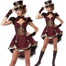 Gothic Halloween Costumes Girls Steampunk Costume Gothic Costume Party