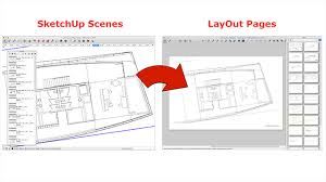 create layout file sketchup extension warehouse