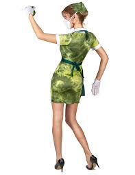 radioactive nurse costume for women vegaoo