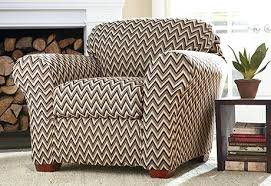 sweetlooking living room chair slipcovers stretch chevron chair