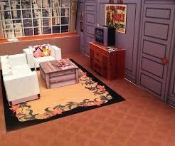 apartment paper diorama