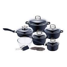 achat batterie de cuisine batterie de cuisine 15 pièces granit induction achat vente