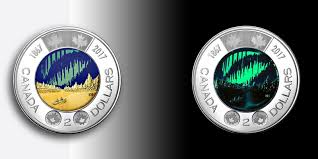 Glow In The Dark Lights Canada U0027s New Two Dollar Coins Glow In The Dark Smart News