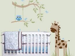 Owl Nursery Wall Decals by Decor 67 Lovely Owl Tree Animal Nursery Wall Decal Brown Giraffe