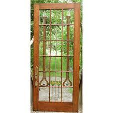 38 Interior Door D15126 Antique Stained Glass Interior Door 38